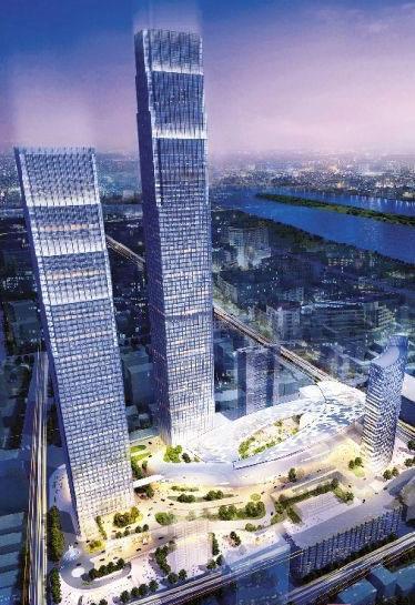 452米高楼开建 5后年将成湖南第一高楼